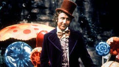 Gene Wilder plays the witty and semi-terrifying Willy