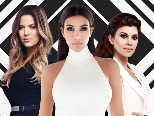 Kim Kardashian (center) is fed up with how people portray