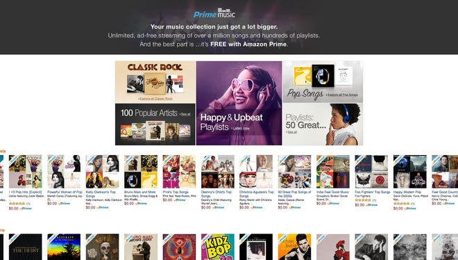 Amazon Prime added 1 million songs to listen to.