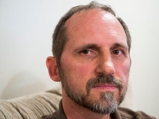 John Dress, who was diagnosed with ocular melanoma
