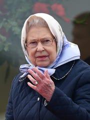 Britain's Queen Elizabeth II attends the Royal Endurance