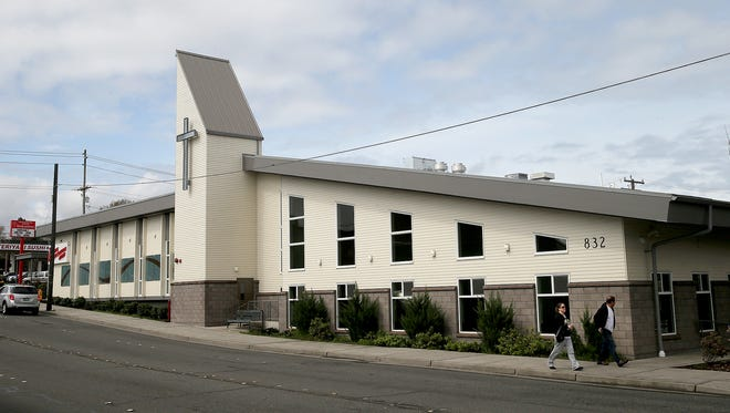 The Bremerton Salvation Army on Sixth Street.