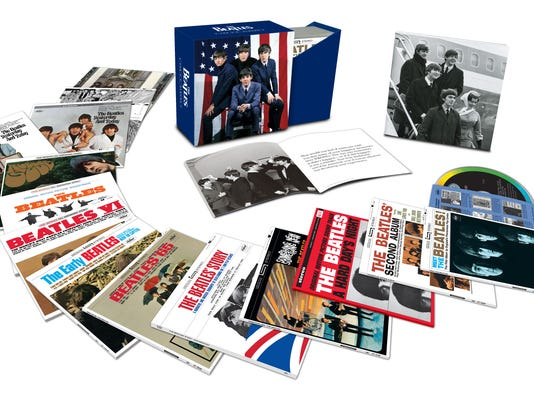 The Beatles' 'The U.S. Albums' box set