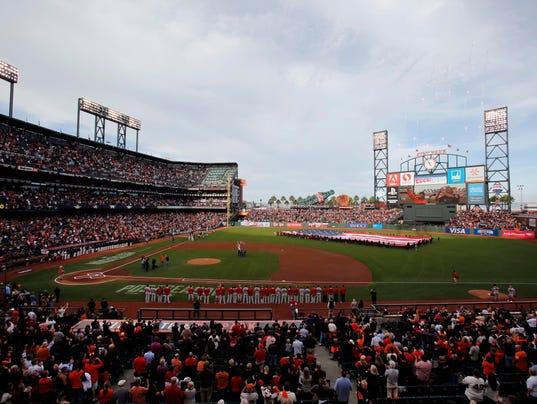 USP MLB: NLCS-ST. LOUIS CARDINALS AT SAN FRANCISCO S BBN USA CA