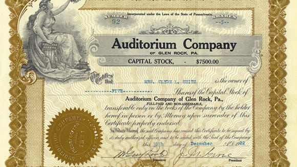 submittedauditorium company of glen rock capital stockfor jim's blog