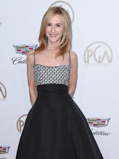 Holly Hunter arrives at the 29th annual Producers Guild