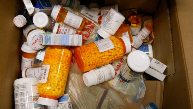 Centerville Police Department will collect unwanted prescription drugs Saturday.