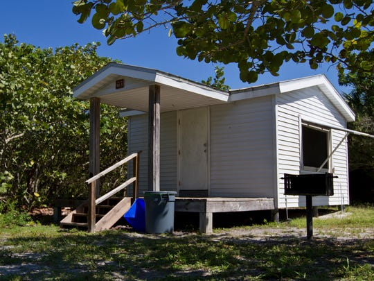 Cayo Costa camping cottage