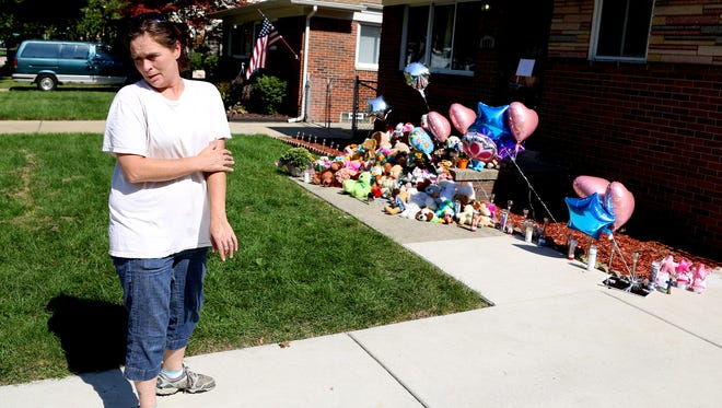 Tonya Ryan, 39 of Allen Park talks about how sad and angry she feels about the death of the Green kids.