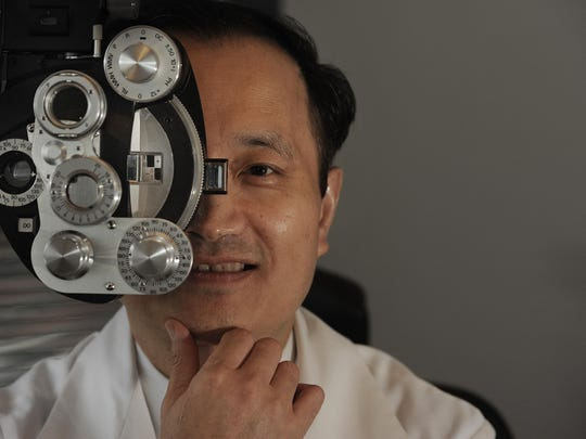 """Dr. Ming Wang, a Nashville eye doctor whose background was the basis for a character named Yip in the 2014 movie """"God's Not Dead,"""" will speak at 5 p.m. Sunday at First Baptist Church of Jackson."""