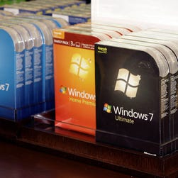 Microsoft has not  set a deadline for vendors to stop selling PCs with its Windows 7 operating system.