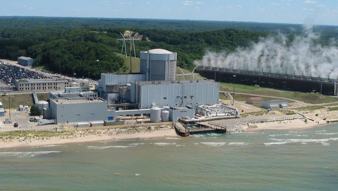 Palisades nuclear plant in Covert Township, Mich.