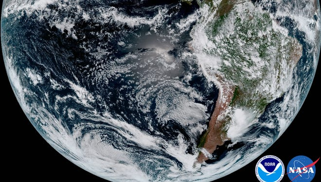 The first stunning images from the newest geostationary meteorological satellite. UW-Madison scientists played an integral role in GOES 16's development.