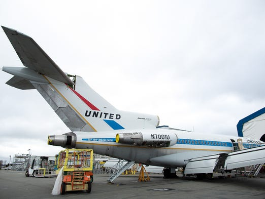 The Museum of Flight Seattle's Boeing 727, the very