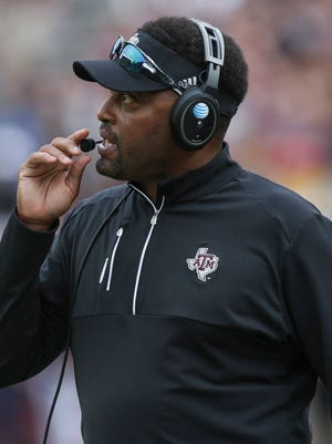Texas A&M Aggies head coach Kevin Sumlin