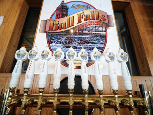 Bull Falls brews beer in Wausau, Wi.