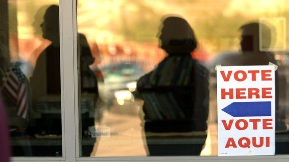 Independent voter registration leveled off and Democrats narrowed the registration gap.