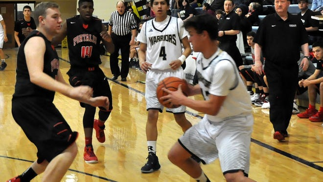 The Ruidoso Warriors were defeated 64-40 by Portales in their first district game of the season Jan. 29