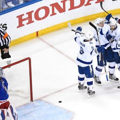 Stamkos has goal and assist, Lightning beat Rangers