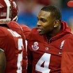 Injured Eddie Jackson remains motivational force for Alabama