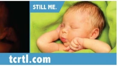A photo of the ad by Tippecanoe County Right to Life was included in the anti-abortion group's lawsuit against CityBus