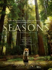 """The movie poster for """"Seasons."""""""