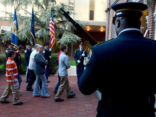 29th Annual Crime Victims' March & Candlelight Vigil