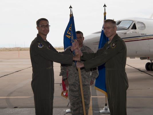 704th Test Group Change of Command