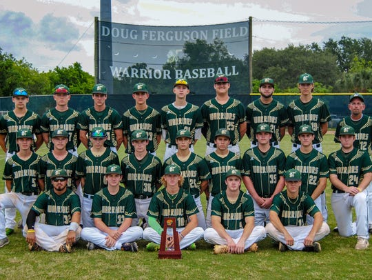 The Jupiter Community High School varsity baseball