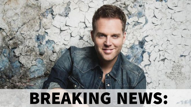 Matthew West will perform at New Vision Baptist Church to benefit Special Kids Therapy and Nursing Center.