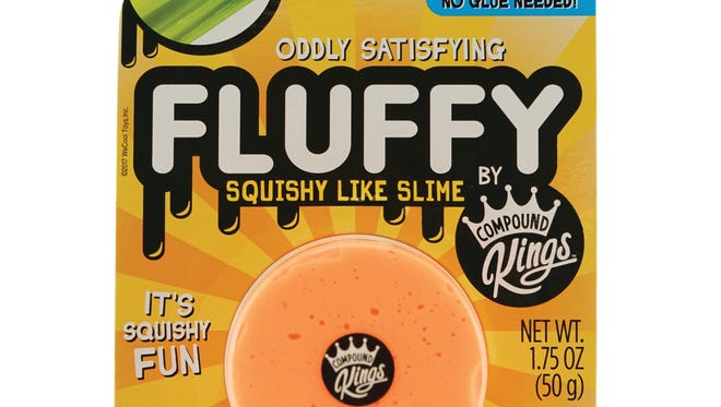 WeCool's Fluffy Slime can be a satisfying activity for kids.