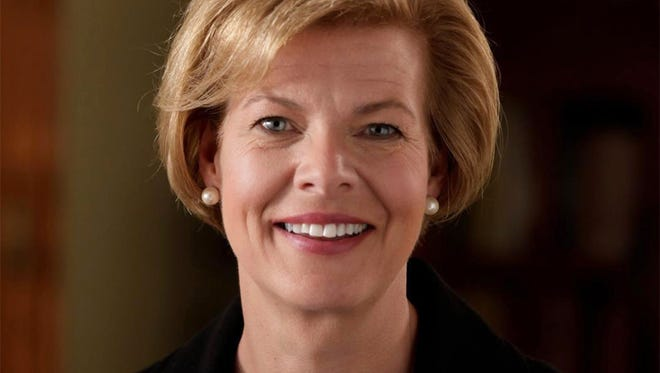 Democratic U.S. Sen. Tammy Baldwin of Wisconsin.