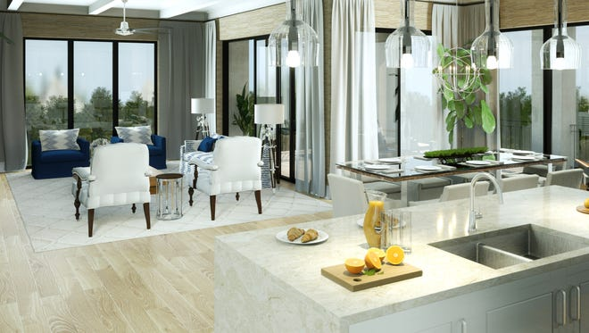 The Ronto Group announced that just six of Naples Square's 19 Phase III residences featuring the highly popular Dover floor plan remain available.