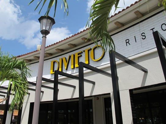 Divieto Ristorante opened Monday, May 29, 2017, at