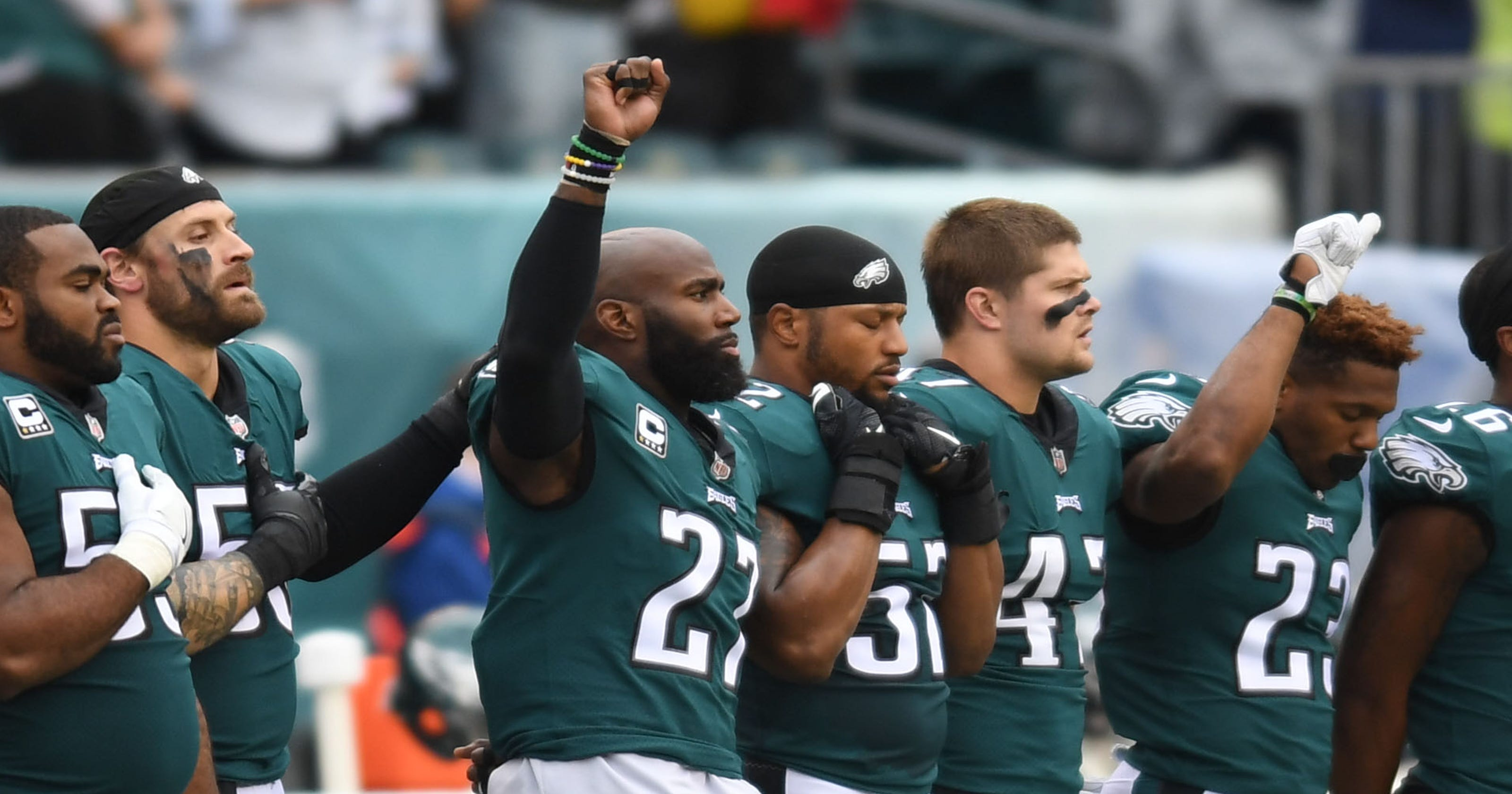 1ce6a7a7b NFL players  protests  Will Salute to Service spark changes