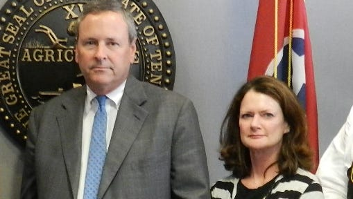 District Attorney General Glenn Funk and Assistant District Attorney General Katy Miller
