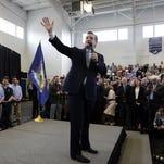 Ted Cruz campaigns in Scotia, N.Y., on April 7, 2016.