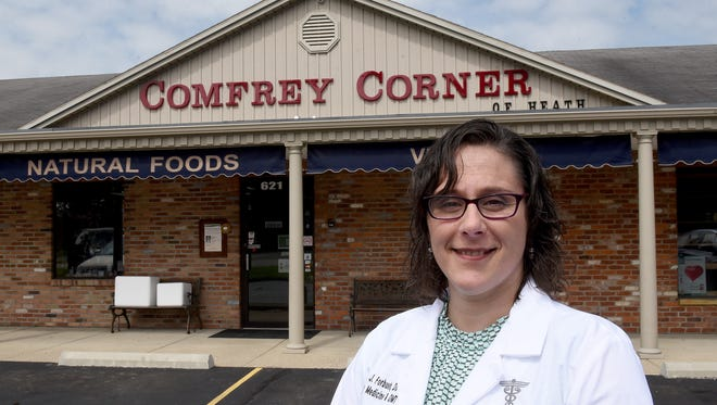 Dr. Julie Forbush will see patients out of the Wellness Center at Comfry Corner on 30th Street in Heath. Forbush has been approved to recommend medical marijuana to patients once the state's medical marijuana program is up and running.