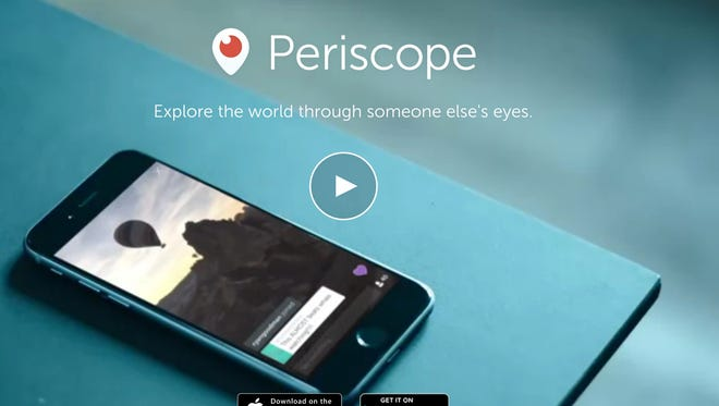 Periscope has been named Apple's coveted app of the year honor.