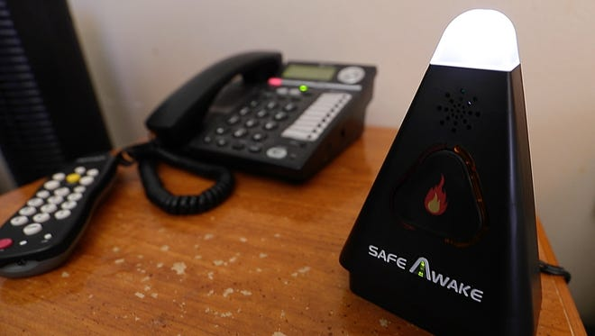 Rutherford County Fire Rescue will be installing smoke alarm aids for county residents who are deaf or hard of hearing. They'll begin installing the aids on Dec. 8.