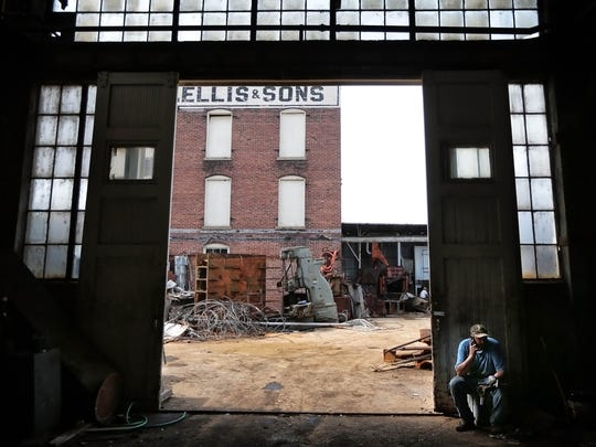 William C. Ellis & Sons Ironworks and Machine Shop is living out it's last days as salvage crews sell off equipment and scrap over 150 years of industrial history. The family owned heavy equipment machine shop has operated on the same site since 1862. As the clock runs down, we take one last look inside.