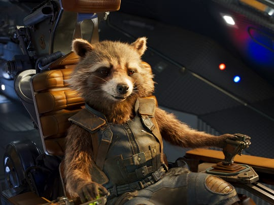 Seen here in 'Guardians of the Galaxy Vol. 2,' Rocket