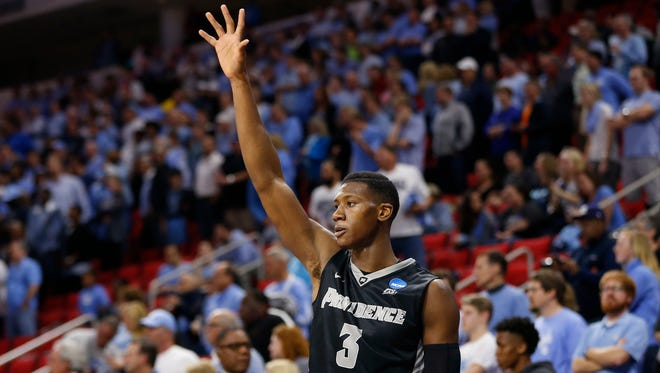 Providence Friars guard Kris Dunn (3) might be the first point guard taken in the NBA draft.