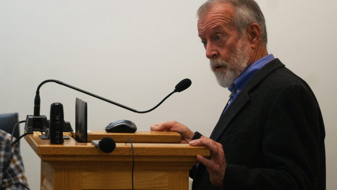 Norm Gaume, former ISC Director and a critic of the Gila River diversion project, delivered a detailed critique at the CAP Entity's meeting on Tuesday, Feb. 6.