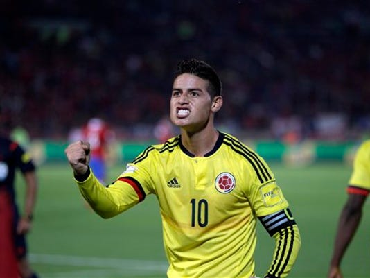 MUNDIAL COLOMBIA-JAMES