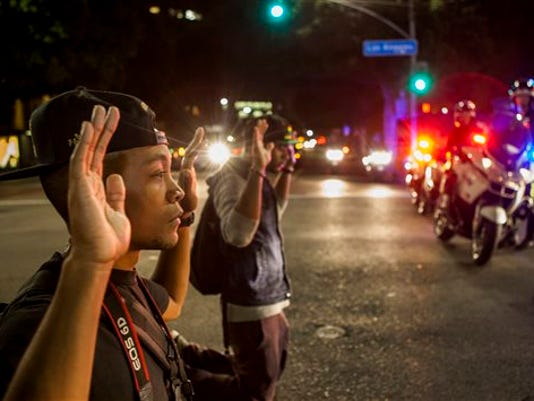 Ferguson Hands Up Photo Gallery