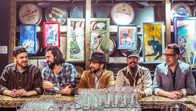 Colorado alt. Americana band The Drunken Hearts makes a stop at The Gov Cup Feb. 10.