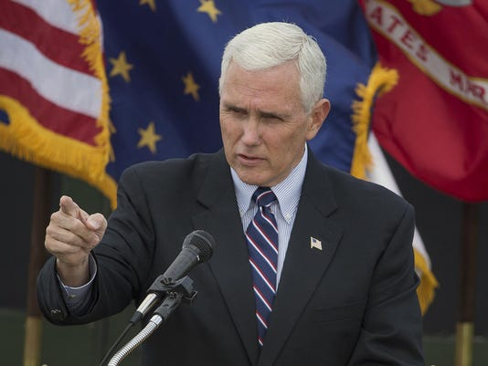 IndyStar stock pence stock mike pence veterans day ceremony_jrw13.JPG