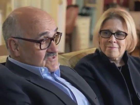 Dr. James Herman and wife Susan Herman.