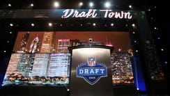 For the second straight year, the NFL draft is being